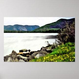Scenic Newfoundland Canvas Print