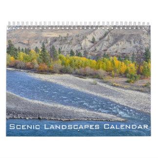 Scenic North America Landscapes Calendar