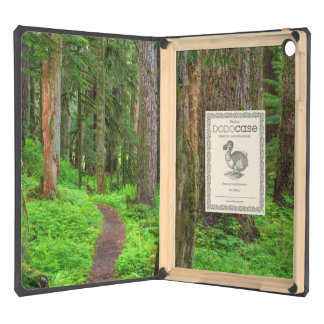 Scenic of old growth forest iPad air cases