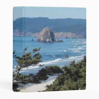 Scenic Oregon Coastline Photo Mini Binder