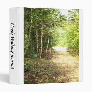 Scenic Oregon Forest Trees Country Photography Binder