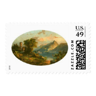 Scenic Oval Postage