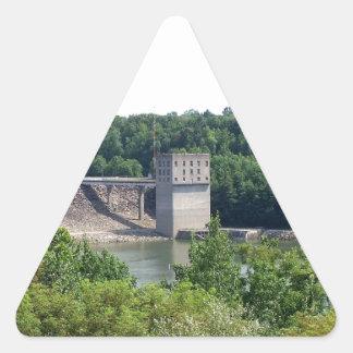 Scenic Overlook Triangle Sticker