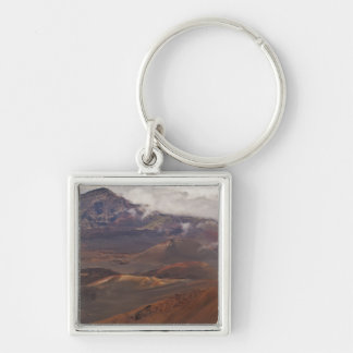 Scenic overview of mountain keychain
