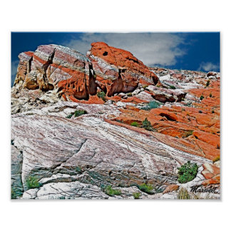 Scenic Photo Art Valley of Fire State Park, NV Poster