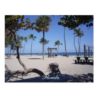 Scenic Postcard - Fort Lauderdale Beach, Florida