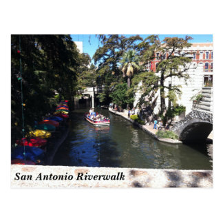 Scenic Postcard - San Antonio Riverwalk, Texas