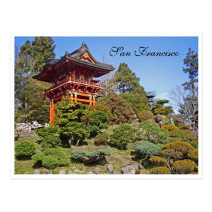 Japanese garden cards greeting photo cards zazzle scenic postcard san francisco japanese garden m4hsunfo