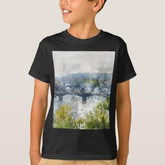 Scenic Prague in the Czech Republic T-Shirt