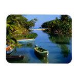 Scenic river near Ocho Rios in Jamaica Rectangle Magnets