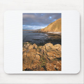 Scenic rocky coast New Zealand Mouse Pad