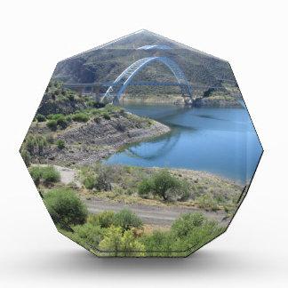 Scenic Roosevelt Lake Acrylic Award