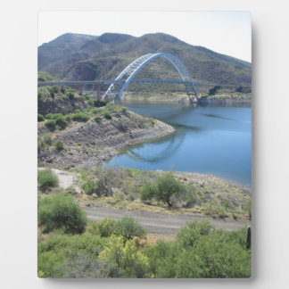 Scenic Roosevelt Lake Plaque