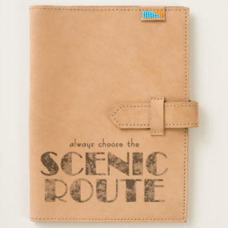 Scenic Route Leather Travel Journal