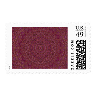 Scenic Route Mandala Postage Stamps
