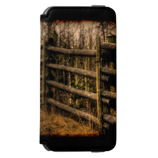 Scenic Rustic Fence in the Country artwork Incipio Watson™ iPhone 6 Wallet Case