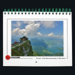 "Scenic Salzkammergut Calendar<br><div class=""desc"">The Salzkammergut is a resort area located in Austria. It stretches from City of Salzburg to the Dachstein mountain range,  spanning the federal states of Upper Austria,  Salzburg,  and Styria.</div>"