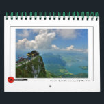"""Scenic Salzkammergut Calendar<br><div class=""""desc"""">The Salzkammergut is a resort area located in Austria. It stretches from City of Salzburg to the Dachstein mountain range,  spanning the federal states of Upper Austria,  Salzburg,  and Styria.</div>"""