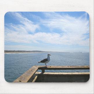 Scenic Seagull Mousepad