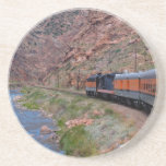 Scenic Series---Train Through the Gorge Drink Coasters