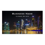 Scenic Singapore Skyline Business Card
