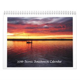 Scenic Southwest Calendar