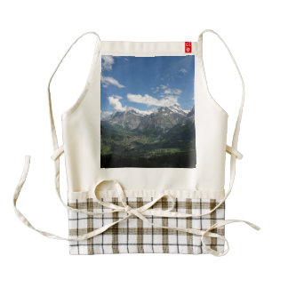 Scenic Switzerland Zazzle HEART Apron