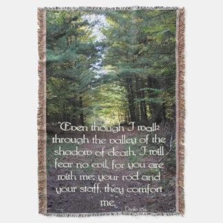 Scenic Throw Blanket/Psalms
