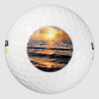 Scenic Tropical Beach Golf Balls