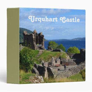 Scenic Urquhart Castle Ruins Binder