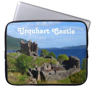 Scenic Urquhart Castle Ruins Computer Sleeve