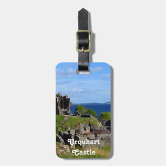 Scenic Urquhart Castle Ruins Luggage Tag