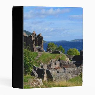 Scenic Urquhart Castle Ruins Mini Binder