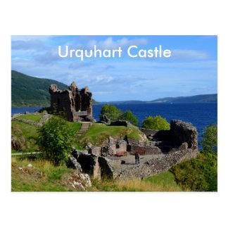 Scenic Urquhart Castle Ruins Postcard