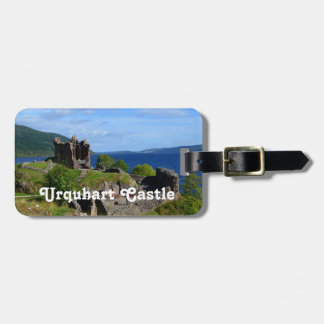 Scenic Urquhart Castle Ruins Tag For Luggage