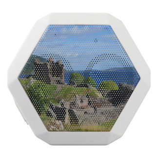 Scenic Urquhart Castle Ruins White Bluetooth Speaker