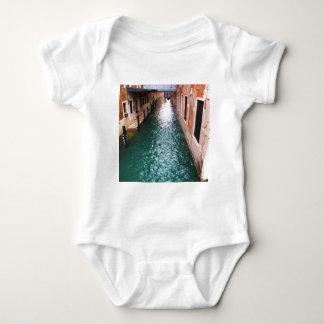 Scenic Venetian Canals - Venice, Italy Baby Bodysuit