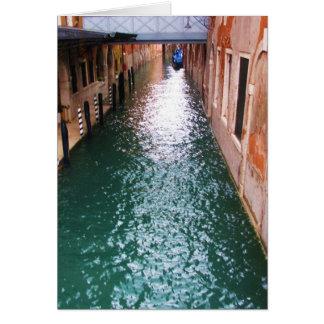 Scenic Venetian Canals - Venice, Italy Card