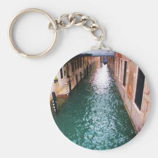 Scenic Venetian Canals - Venice, Italy Keychain