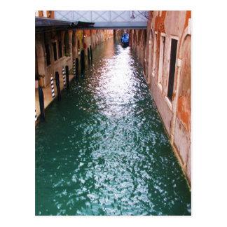 Scenic Venetian Canals - Venice, Italy Postcard