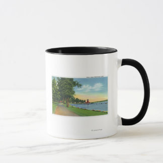 Scenic View along the Lake Mug