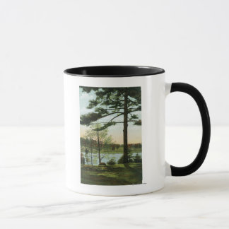 Scenic View at Chestnut Hill Reservoir Mug