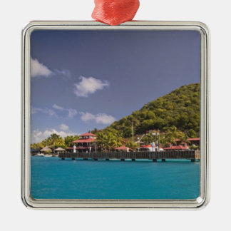 Scenic view of Bitter End Yacht Club Virgin Christmas Tree Ornaments