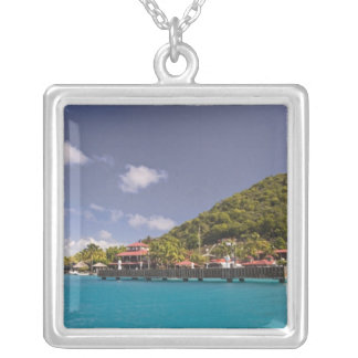 Scenic view of Bitter End Yacht Club Virgin Silver Plated Necklace