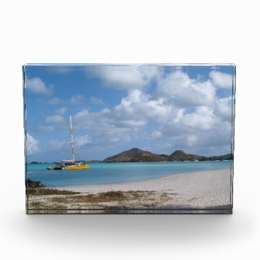 Ocean Themed Scenic view of Caribbean Background Award