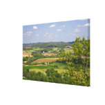 Scenic view of farmland south of Arcadia, 2 Canvas Print