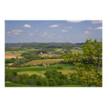Scenic view of farmland south of Arcadia, 2 Print