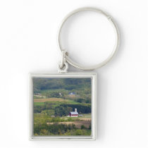 Scenic view of farmland south of Arcadia, Keychain