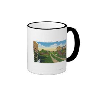 Scenic View of Gull Island Ringer Mug