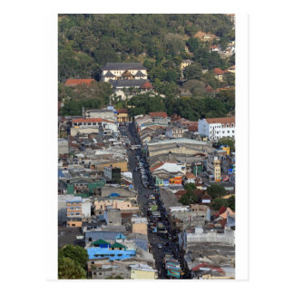Scenic view of Kandy, Sri Lanka Postcard